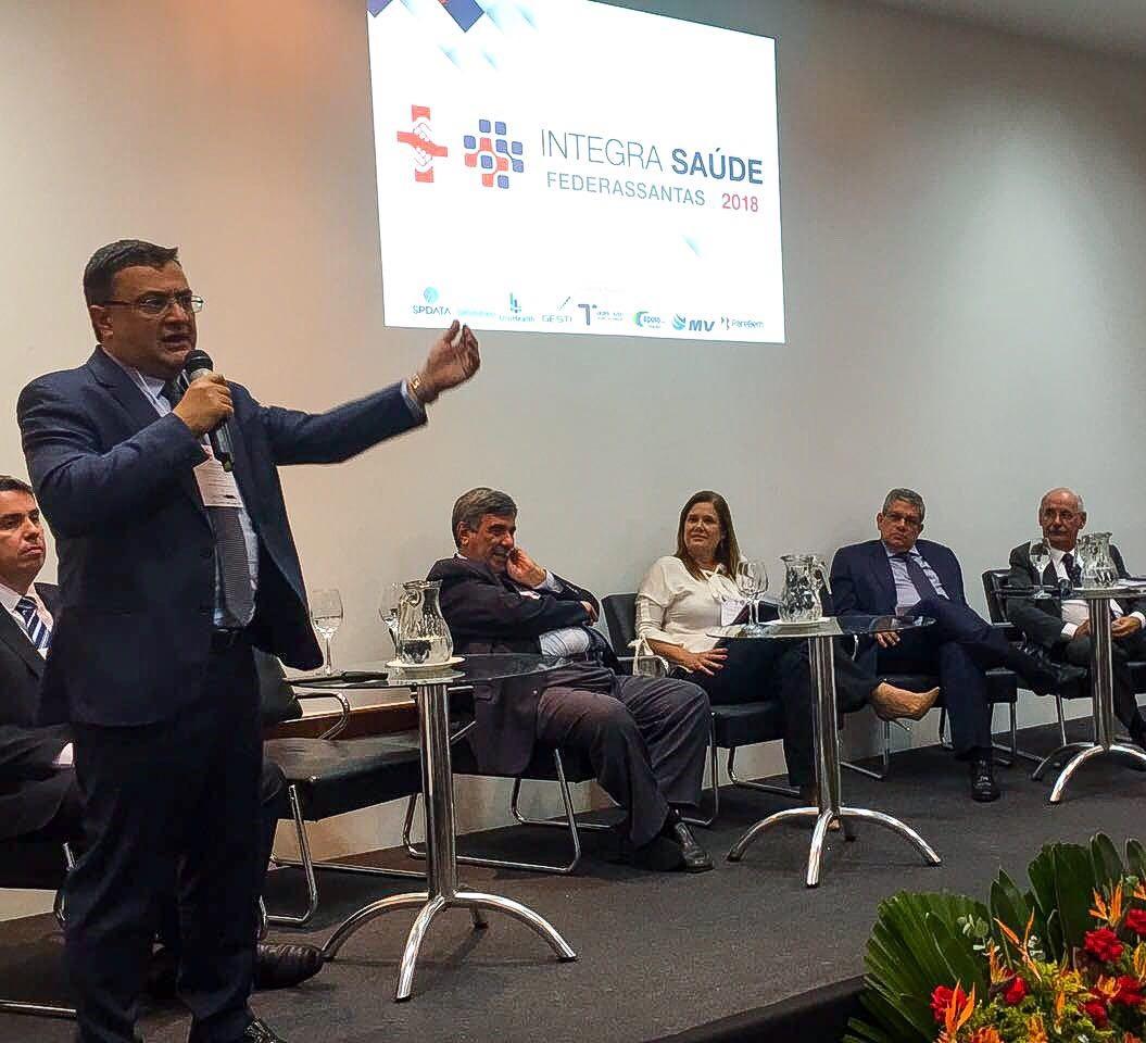Michele Caputo destaca importância do apoio à hospitais filantrópicos