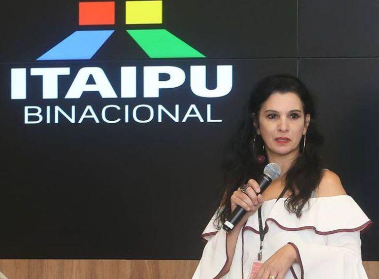 Stamm confirma Patrícia Iunovich na Comunicação da Itaipu