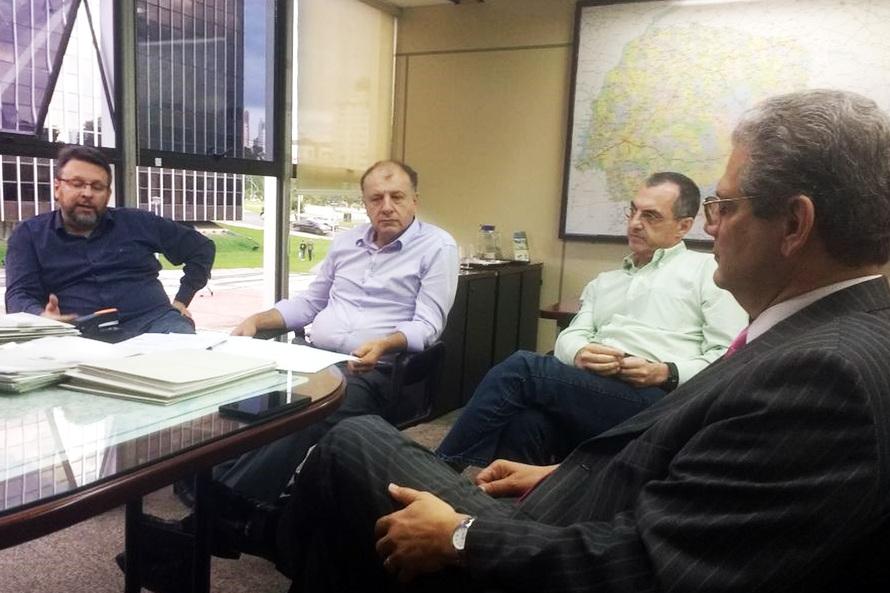 Silvio Barros inicia trabalho na Sedu