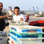 Marcello Richa visita a Colônia dos Pescadores em Matinhos