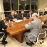 Cida recebe reitores de universidades e conversam sobre projeto da faixa de Infraestrutura em Pontal do Paraná