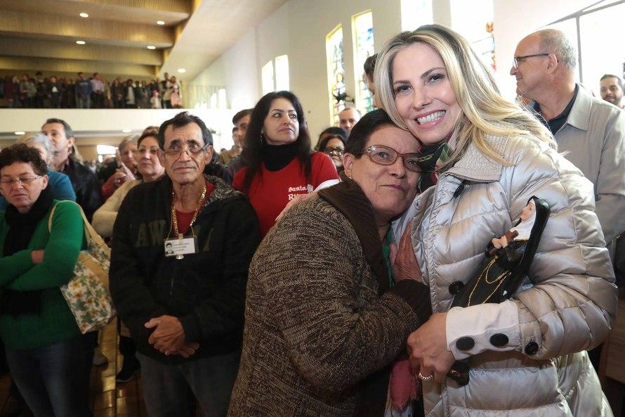 Cida participa da 25ª. edição da Festa de Santa Rita de Cássia