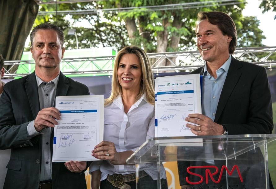 Maringá terá R$ 23,3 milhões para ampliação da estação de de tratamento de Alvorada