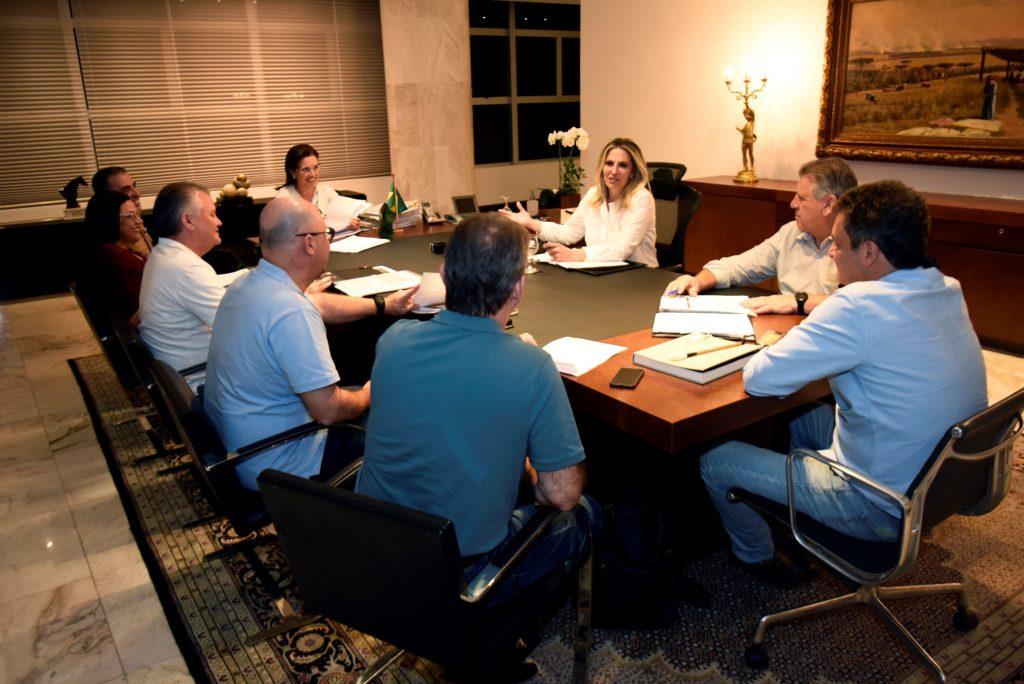 Cida faz nova reunião com as forças de segurança