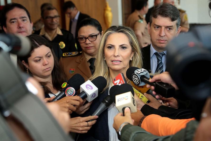 Cida destaca redução de homicídios em Curitiba em 21,7% - o menor número em 11 anos