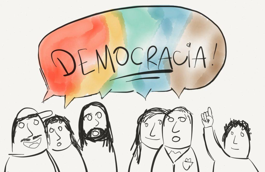 Mobilização pela democracia