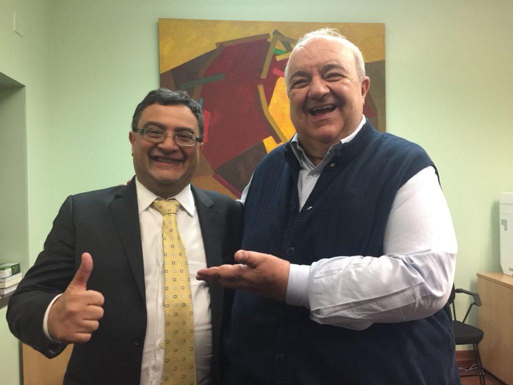Michele Caputo se reúne com Greca e discute novos projetos para a Saúde