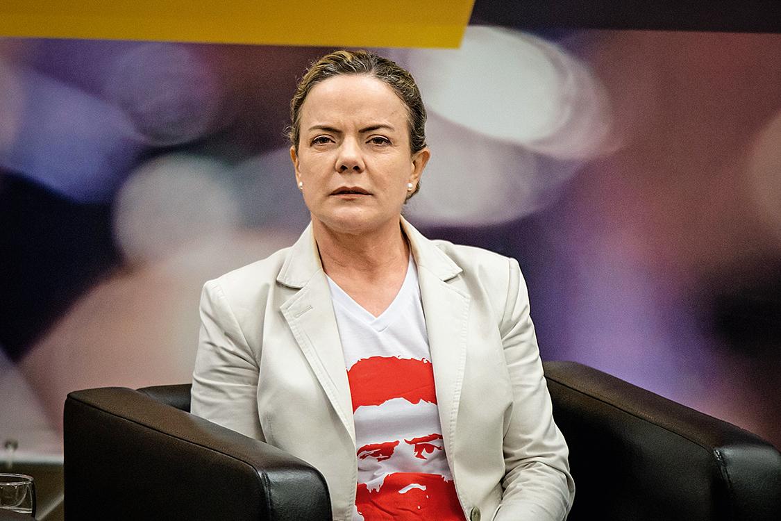 PGR pede ao STF condenação de Gleisi Hoffmann na Lava Jato