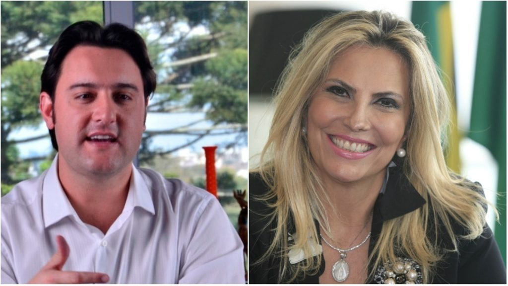 PSL entre Cida e Ratinho Junior