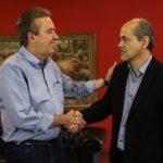 Para discutir possível acordo para eleições, Fruet e Ducci marcam novo encontro