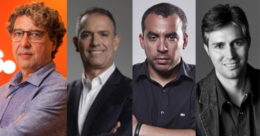 Claudio Loureiro (Heads), Juca Pacheco (G/PAC), Thiago Biazetto (Tif) e Helisson Schiavinato (Imam) comandam algumas das maiores agências de publicidade do Paraná